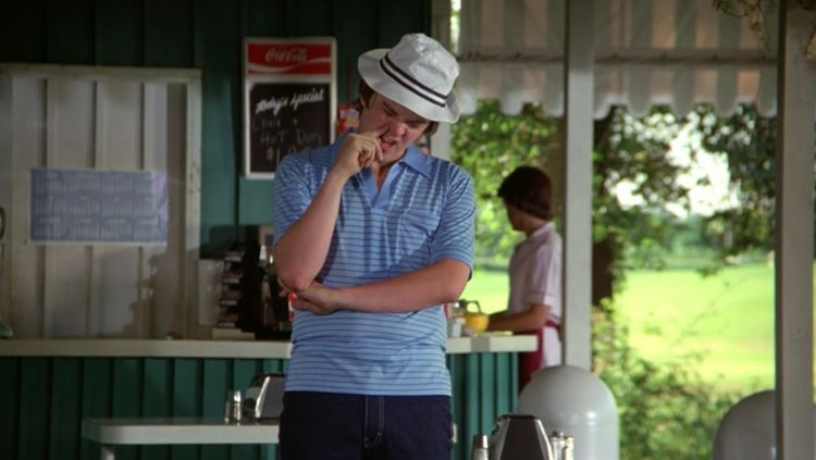 """Fifty bucks says the Smails kid picks his nose."" — Caddyshack"